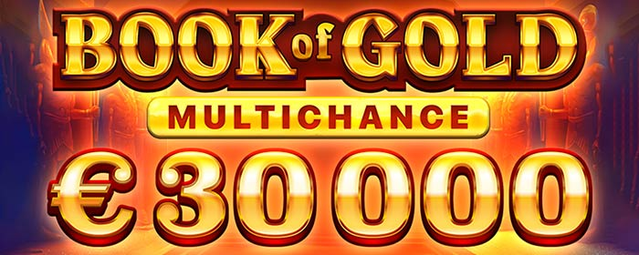 Playson社Book of Gold$30000トーナメント