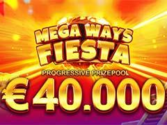 MEGA WAYS FIESTA BOOONGO €40,000