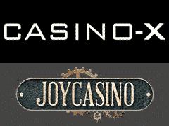 CASINO-XとJOYCASINO日本サービス終了