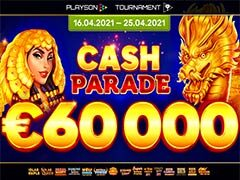 PLAYSON CASH PARADE €60000トーナメント