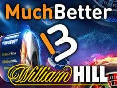 ウィリアムヒルカジノでモバイル電子マネーMuch Betterに対応